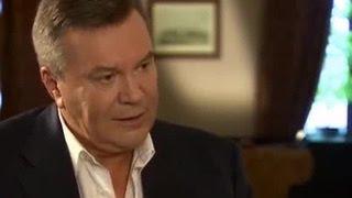 Мир или война - это вопрос выбора: Янукович рассказал о подоплеке Майдана