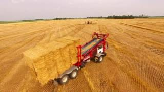 Matlack Farms Wheat & Straw Harvest 2016