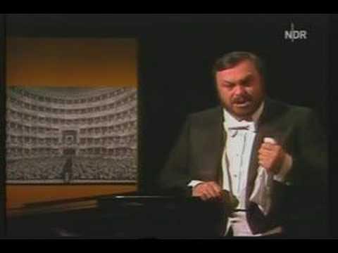 Luciano Pavarotti - Aria from Lucia di Lammermoor 1978