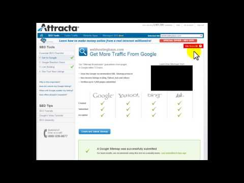 How Attracta SEO Tools cPanel Works
