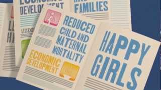 The World We Want for Girls -- International Day of the Girl