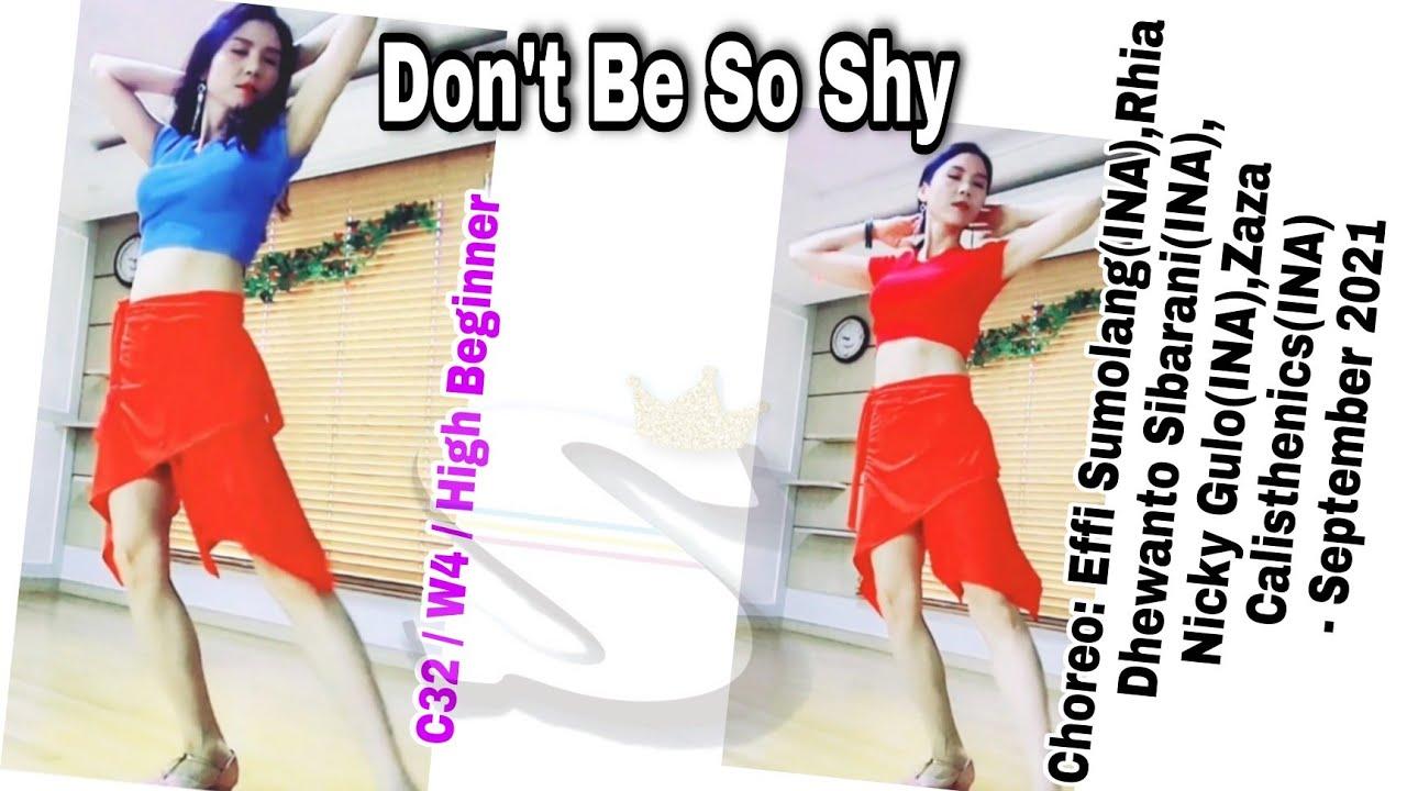 Don't Be So Shy(Rumba)-Line Dance(High Beginner) #초급 #룸바