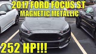 2017 Форд Фокус СТ - магнітний металік - ст2 - 2.0 EcoBoost двигун - 6-ступінчаста механічна