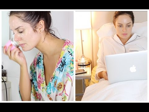 GRWM: Night Time Routine // Skin Care + Bedtime Regime