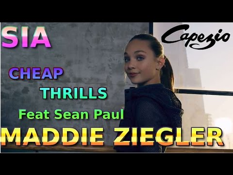 Sia Cheap Thrills Feat Sean Paul  MADDIE ZIEGLER
