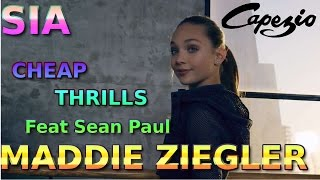 Sia Cheap Thrills feat Sean Paul (Clip Vidéo) MADDIE ZIEGLER