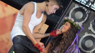 justin bieber one less lonely girl 7 30 13 prudential center newark new jersey