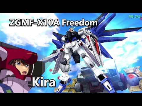 Gundam Seed: Rengou vs ZAFT - ZGMF-X10A Freedom - Arcade Mode