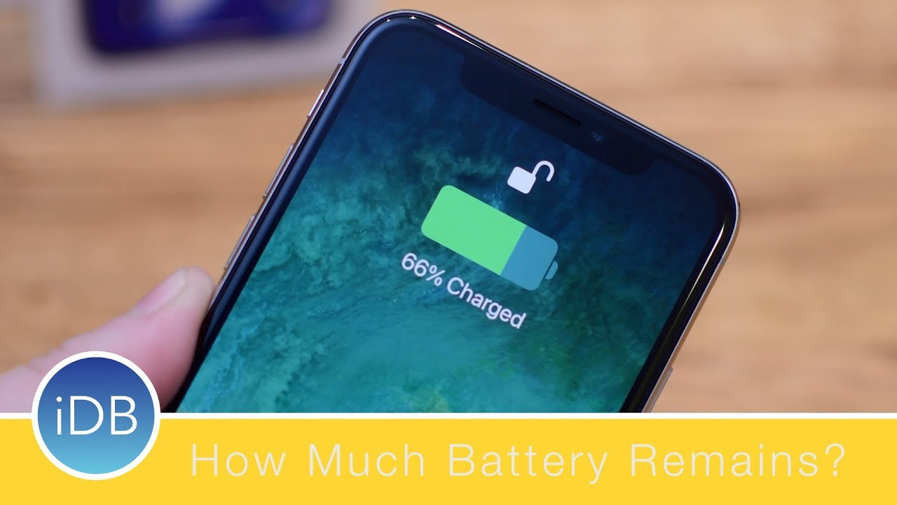 iphone battery percent how to view the remaining battery percentage on iphone x 11642