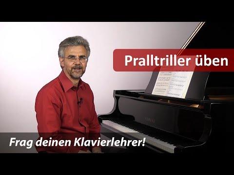 Klavier lernen – So übst du schnelle Pralltriller – 5 Übevarianten