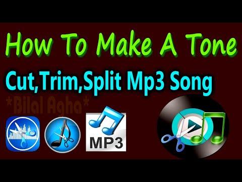 How To Cut,Trim,Split Audio,Mp3 Full Songs And Make Short Audio,Urdu Tutorial.