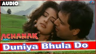 Achanak : Duniya Bhula Ke Full Audio Song With Lyrics | Govinda & Manisha Koirala |