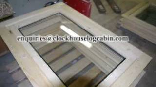 This Video Previously Contained A Copyrighted Audio Track. Due To A Claim By A Copyright Holder, The Audio Track Has Been Muted.     Log Cabins,custom Build Log Cabins New Designs Of Uk Cabins ,double Glaze_decking_