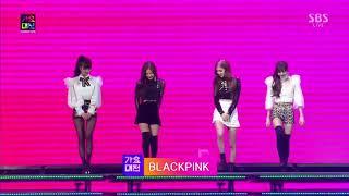 171225 BLACK PINK OPENING SBS GAYO DAEJUN 2017