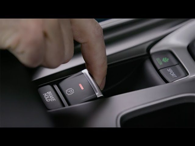 2018 Honda Accord Tips & Tricks: How to Use the Electric Parking Brake