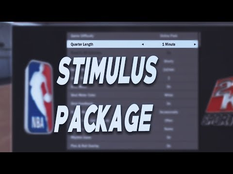 NBA 2K18 STIMULUS PACKAGE GLITCH | 1-20 MINUTES QUATERS