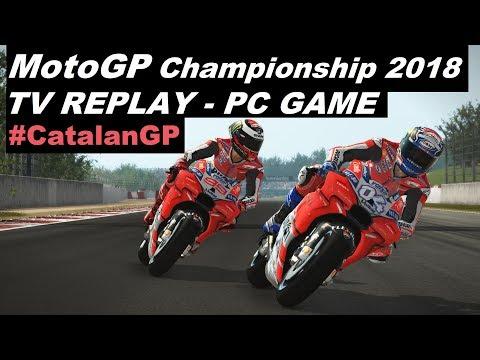 MotoGP 2018   7#   #CatalanGP    TV REPLAY 50%   PC GAME MOD 2018 thumbnail