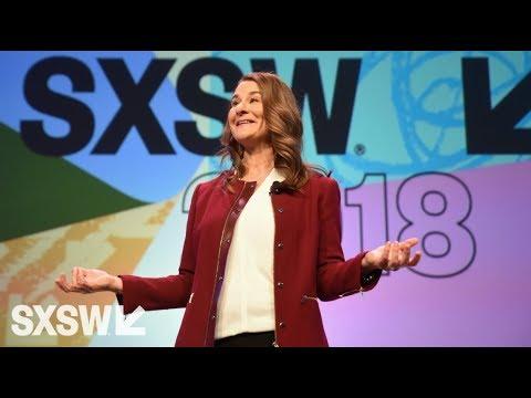 Melinda Gates | Interactive Keynote | SXSW 2018