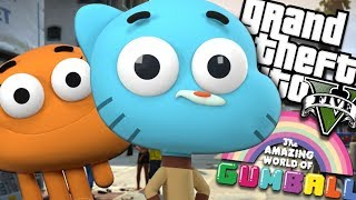 The Amazing World of Gumball RETURNS MOD (GTA 5 PC Mods Gameplay)