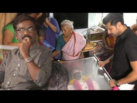 Kollywood Celebrities pays Homage to cinematographer Priyan   Vikram Vishal