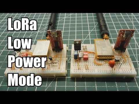 LoRa Low Power Mode