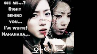 Pink Dolls - White (White - The Melody Of The Curse OST) with English Lyrics