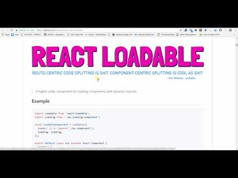 Code splitting in create react app | Reduce bundle size | Optimize build