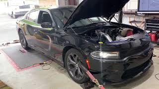 Supercharged v6 Charger dyno pulls!