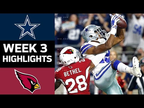Cowboys vs. Cardinals | NFL Week 3 Game Highlights