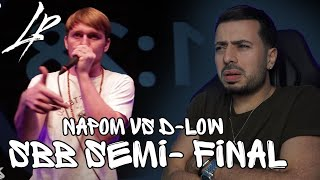 NAPOM vs D-LOW   SBB 2017   SEMI FINAL *Reaction*   THEY WENT INSANE!!!!