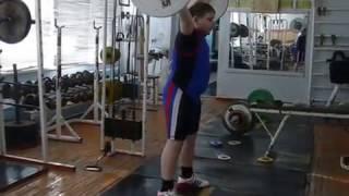 Бикмулин Илья, 11 лет   Рывок 32 кг Есть личный рекорд!