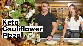 Mediterranean Keto Pizza With Thomas DeLauer - Easy Cauliflower Recipe | Thrive Market