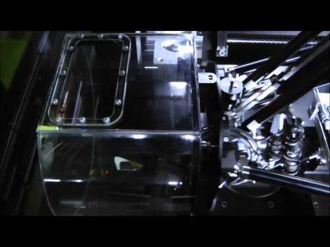 3D laser polishing