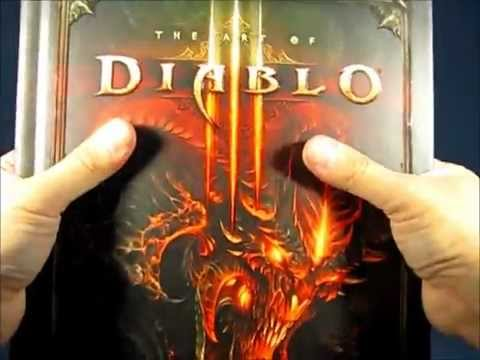 My Unboxing Of Collector's Edition of Diablo III and Limited Edition of Diablo III Strategy Guide