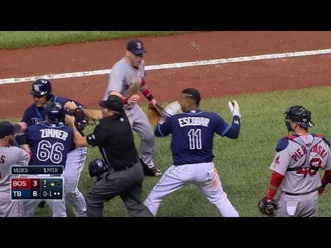 Three players ejected after benches clear