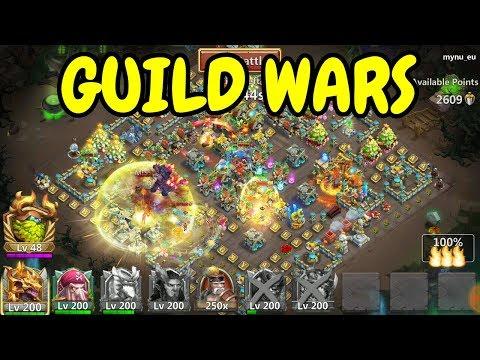 Guild Wars L 13 000+ Points L Castle Clash