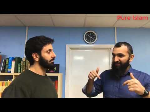 Hamza Tzortzis & Subboor Ahmad - The fitrah (innate nature) and first principles