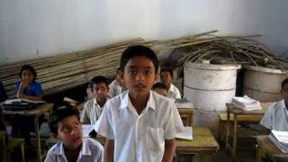 School kids as they are learning English during their class -  iHomeroom Bangladesh