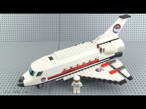 LEGO City 3367 Space Shuttle review!