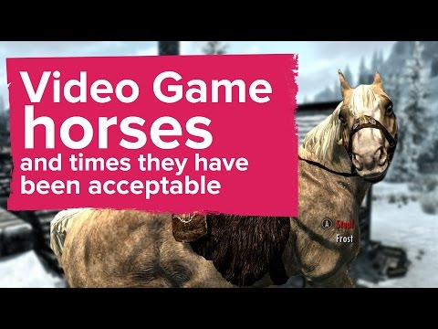 Video game horses and times they have been acceptable