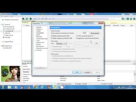 Tutorial 3 configurare emule anche adunanza doovi for Porte utorrent