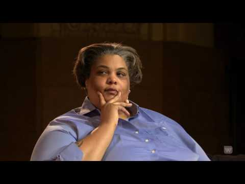 Roxane Gay with Santilla Chingaipe