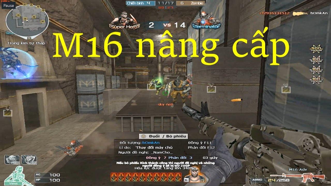 [ Bình Luận CF ] M16-Adv - Tiền Zombie v4