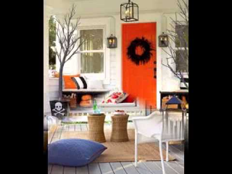 easy diy small front porch design decorating ideas youtube