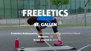 Freeletics Crew Tour 2017 | St. Gallen, Switzerland