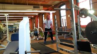 exercise invention | special dead lift without touching the ground but going the whole way