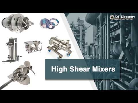 High Shear Mixer Manufacturers Suppliers