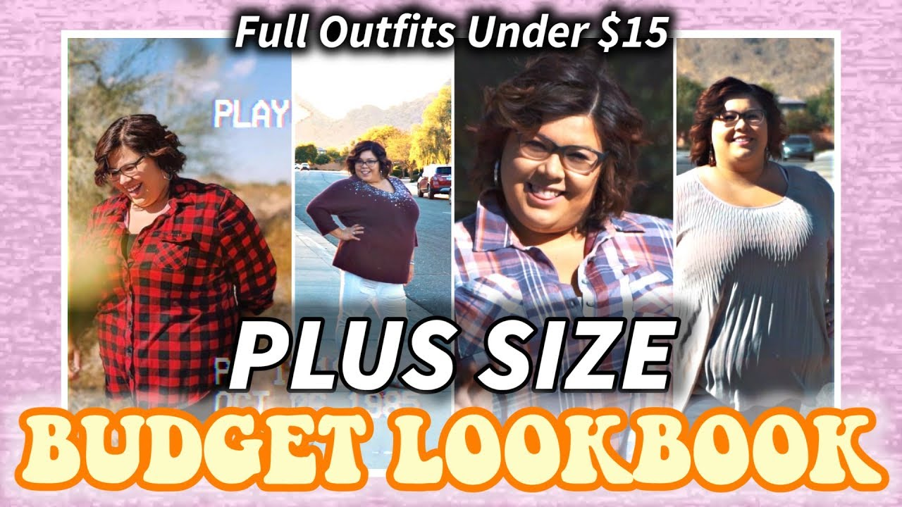 [VIDEO] - PLUS SIZE Budget Lookbook! Fall Outfits under $15! 1
