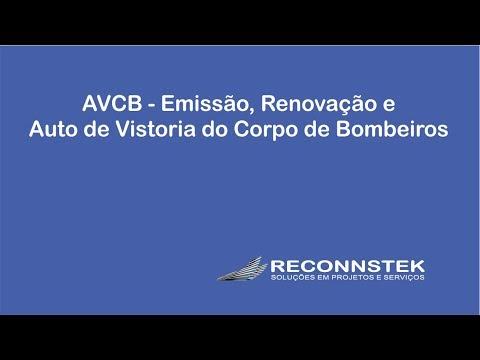 AVCB - Emissão, Renovação e Auto de Vistoria do Corpo de Bombeiros