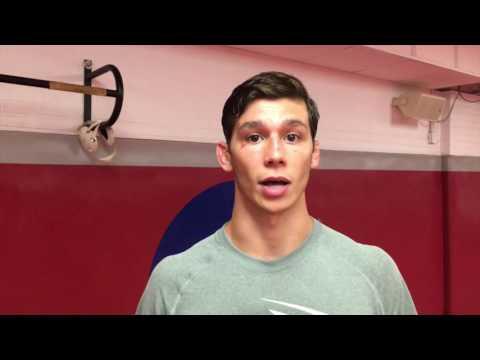 Lock Haven's Patrick Duggan talks about transfer from West Virginia